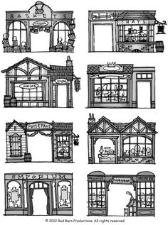 Architecture clipart journal entry Victorian Architecture Free trim door