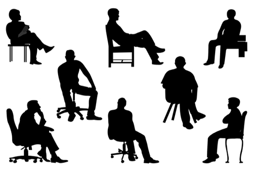 Architecture clipart man Silhouette Art Executives Business Executives