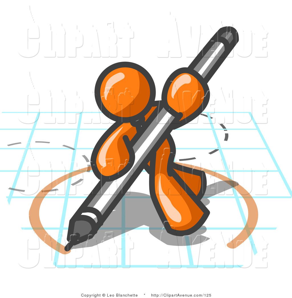 Architecture clipart man A and a an and