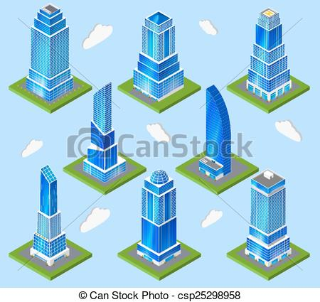 Model Urban rise  town
