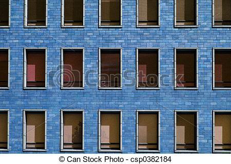Helsinki Stock of windows Blue