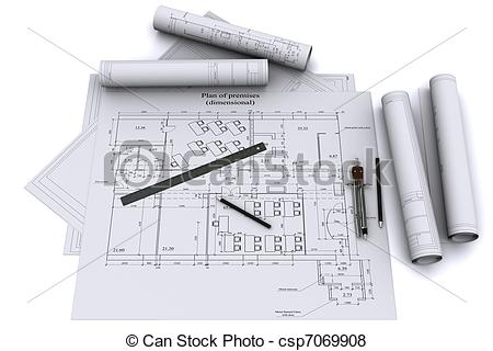 Architecture clipart ruler On of architectural Illustration architectural