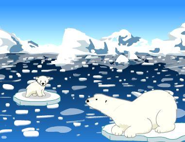 Tundra clipart arctic habitat #2