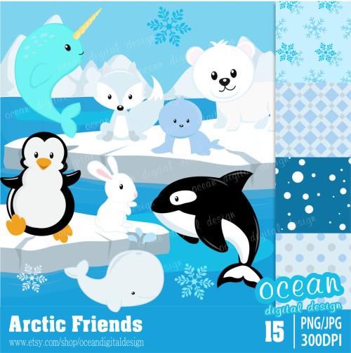 Arctic clipart Free Clip Art arctic Free