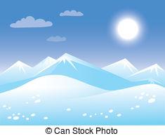 Arctic clipart arctic landscape Csp13480722 Vector Search  Illustration