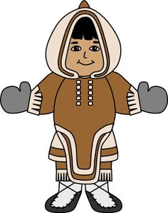 Arctic clipart inuit Craft Ideas  americans studying/activites