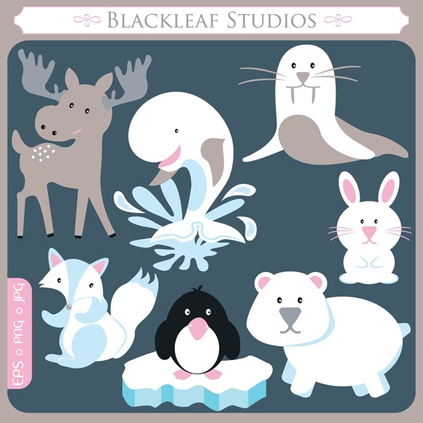 Arctic clipart snow animal Snow to bear Animals and