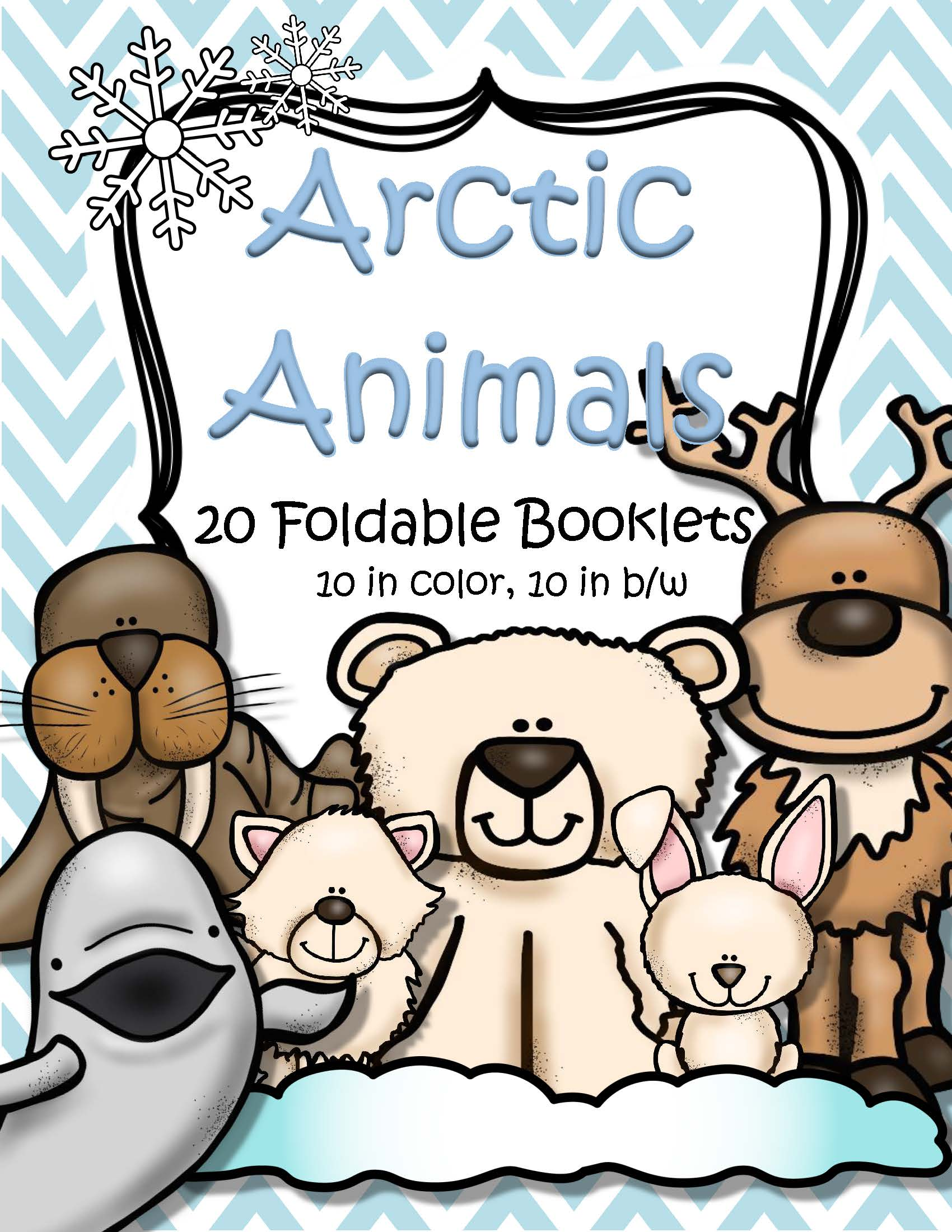 Arctic Hare clipart arctic seal Booklets Animals Foldable  Arctic