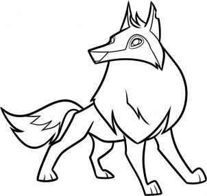 Wolf clipart animal jam Animal images best collection jam