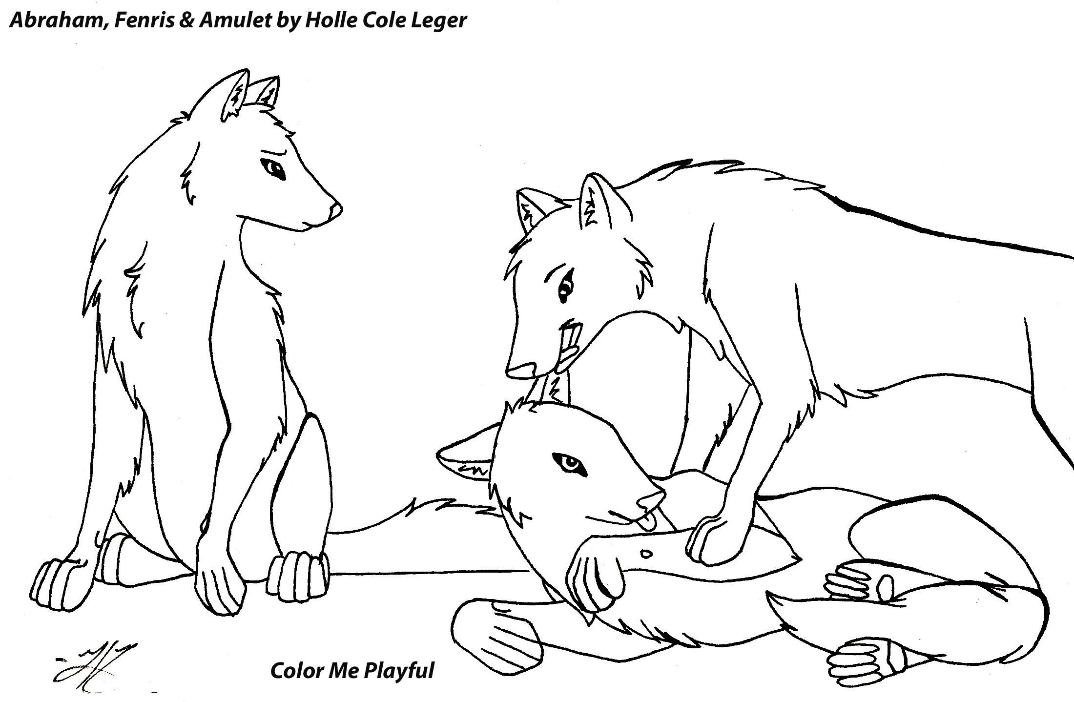 Arctic Wolf clipart coloring book Coloring of Pages Size Animals