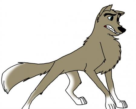 Arctic Wolf clipart gray wolf Wolf cartoon Wolf Cartoon photo#6