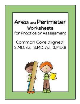 Area clipart perimeter 3rd grade #9