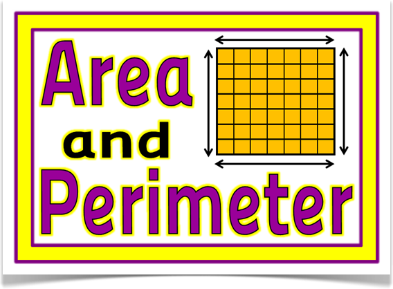 Area clipart perimeter 3rd grade #7