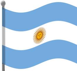 Argentina clipart Art Waving Argentina Download Argentina