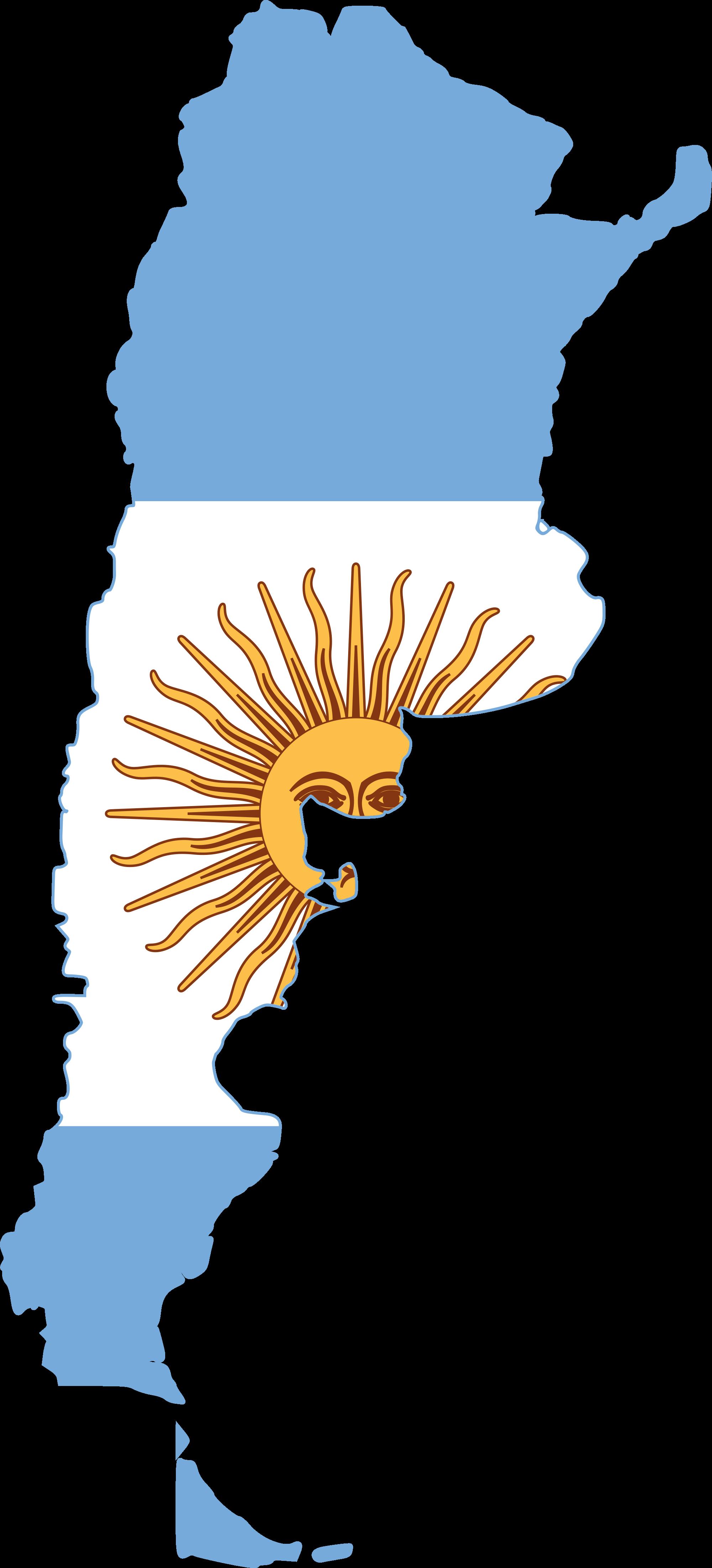 Argentina clipart Argentina Map Clipart #8