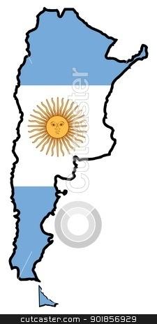 Argentina clipart Argentina Map Clipart #7