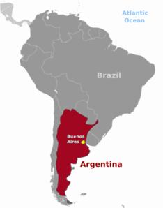 Argentina clipart Argentina Map Clipart #4