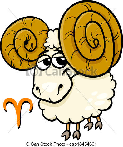 Aries clipart Sign  aries of the