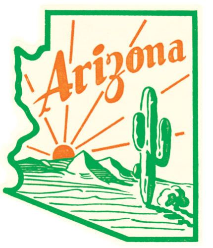 In The Desert clipart arizona Decal 1950 Best tattoo S