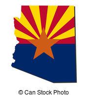 Arizona clipart Free Map 866 flag Clipart