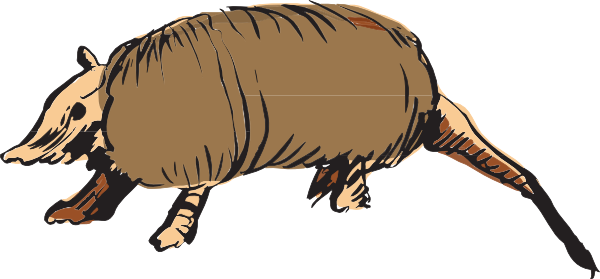 Armadillo clipart Inspiration Clipart Others Clipart Art