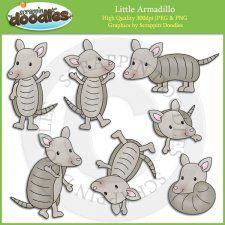 Armadillo clipart envious De Clip Little Clipart Armadillo