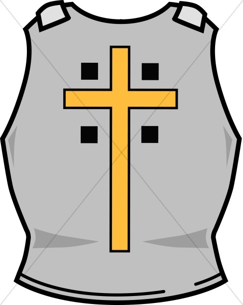 Armor clipart Warfare Cross Righteousness Sharefaith Breastplate