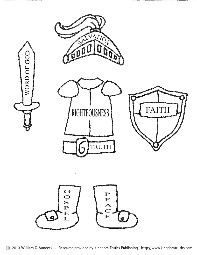 Armor clipart armor god & Pages Of For God