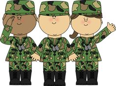 Army clipart #1