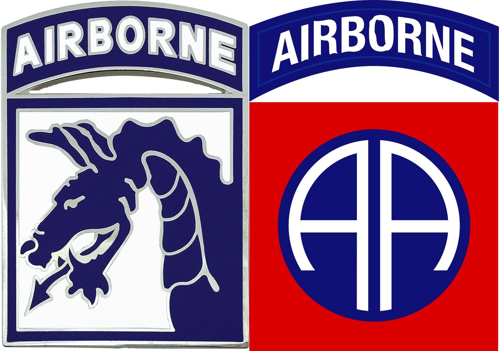 Cornol clipart airborne S of deployment Bragg the