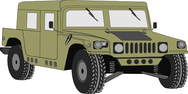Army clipart army jeep #11
