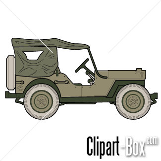 Army clipart army jeep #10