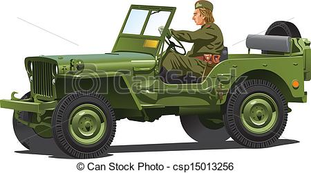 Army clipart army jeep #9