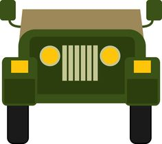 Army clipart army jeep #8
