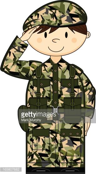 Army clipart british person #4