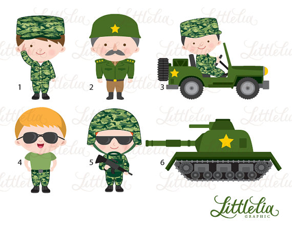 Army clipart christmas LittleLiaGraphic clipart army clipart Military