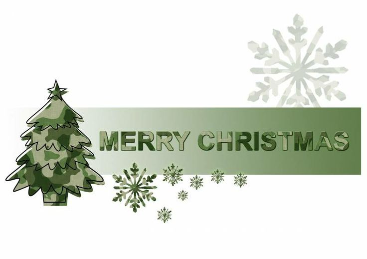Army clipart christmas Plaques Christmas and Merry Military