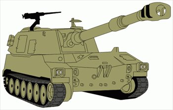 Army clipart war tank #14