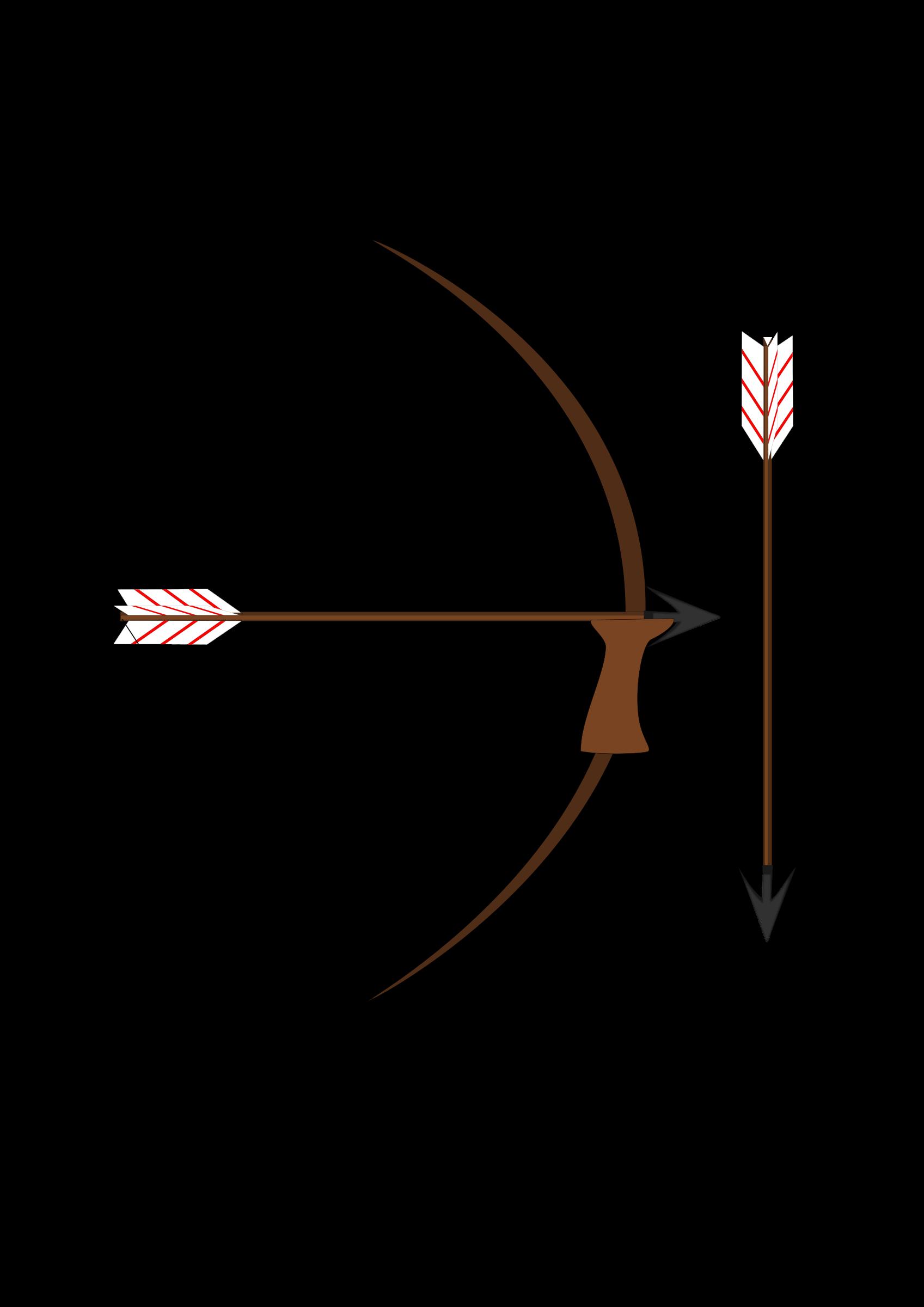 Clipart arrow Bow and arrow