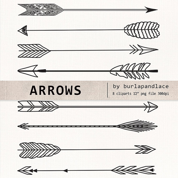 Arrow clipart aztec Clipart arrows arrows Drawn 1burlapandlace