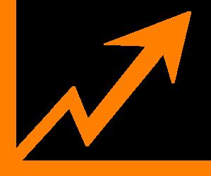 Arrow clipart growth #6