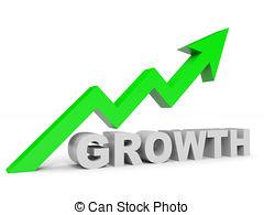 Arrow clipart growth #4