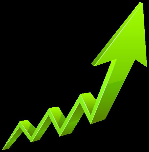 Arrow clipart growth #7