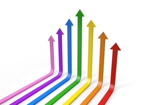 Arrow clipart growth #2