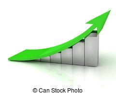 Arrow clipart growth #9