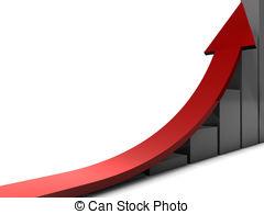 Arrow clipart growth #10