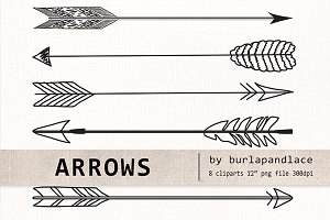 Arrow clipart hand drawn Draw on Creative Drawn Arrow