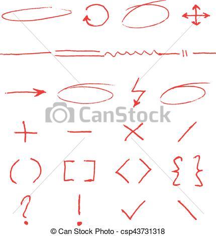 Arrow clipart handwritten #4