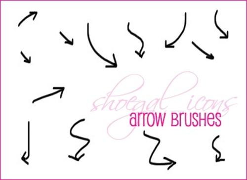 Arrow clipart handwritten #5