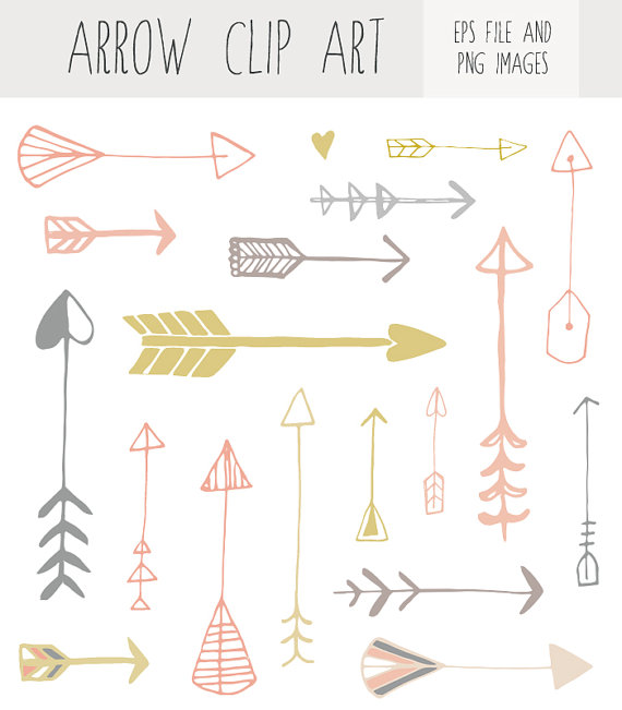 Arrow clipart handwritten #7